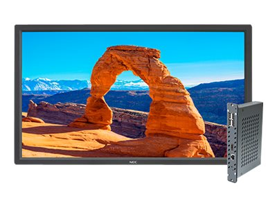 NEC 32 V323 Full HD LED-LCD Display with Integrated OPS PC, V323-2-PC, 19462424, Monitors - Large-Format LED-LCD