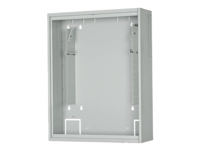 Panduit PanZone Lockable Active Wall Mount Enclosure for 19 EIA Equipment up to 6U of User Equipment, PZAEWM6E