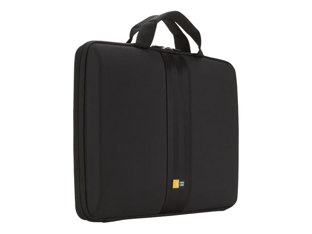 Case Logic 13.3 Molded Netbook Sleeve Case, Black, QNS-113BLACK, 11819960, Carrying Cases - Notebook