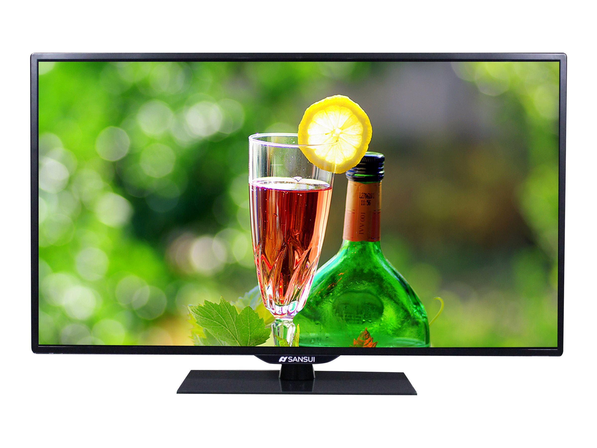 Sansui 39.5 SLED4015 Full HD LED-LCD TV, Black, SLED4015, 31951933, Televisions - LED-LCD Consumer