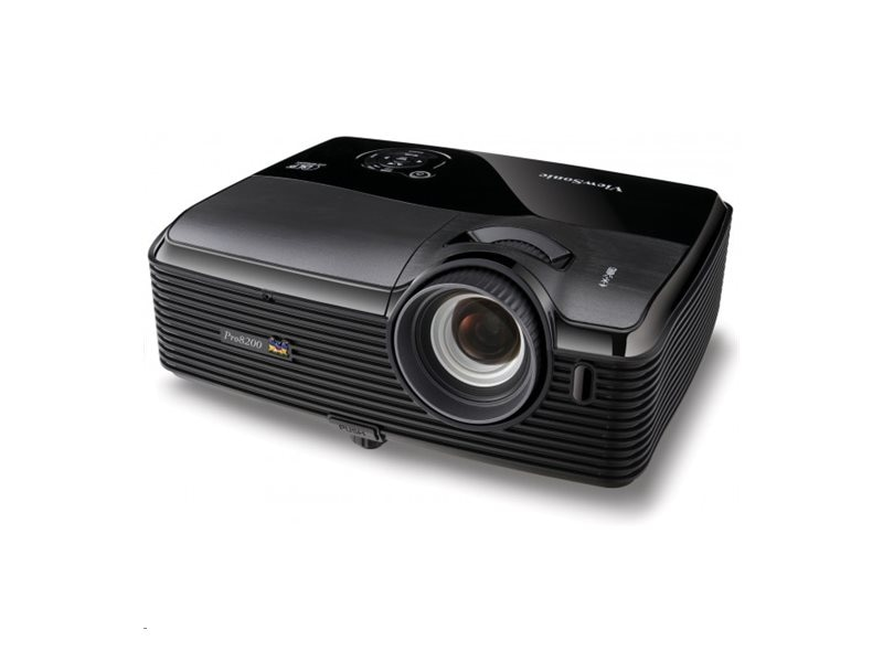 ViewSonic Pro8200 Full HD DLP Projector with Speakers, 2000 Lumens, PRO8200, 12110434, Projectors