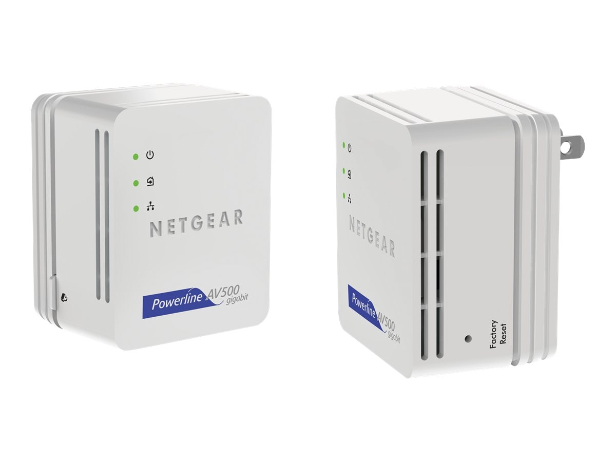 Netgear Powerline Nano500 Set, XAVB5101-100PAS, 13760033, Network Adapters & NICs