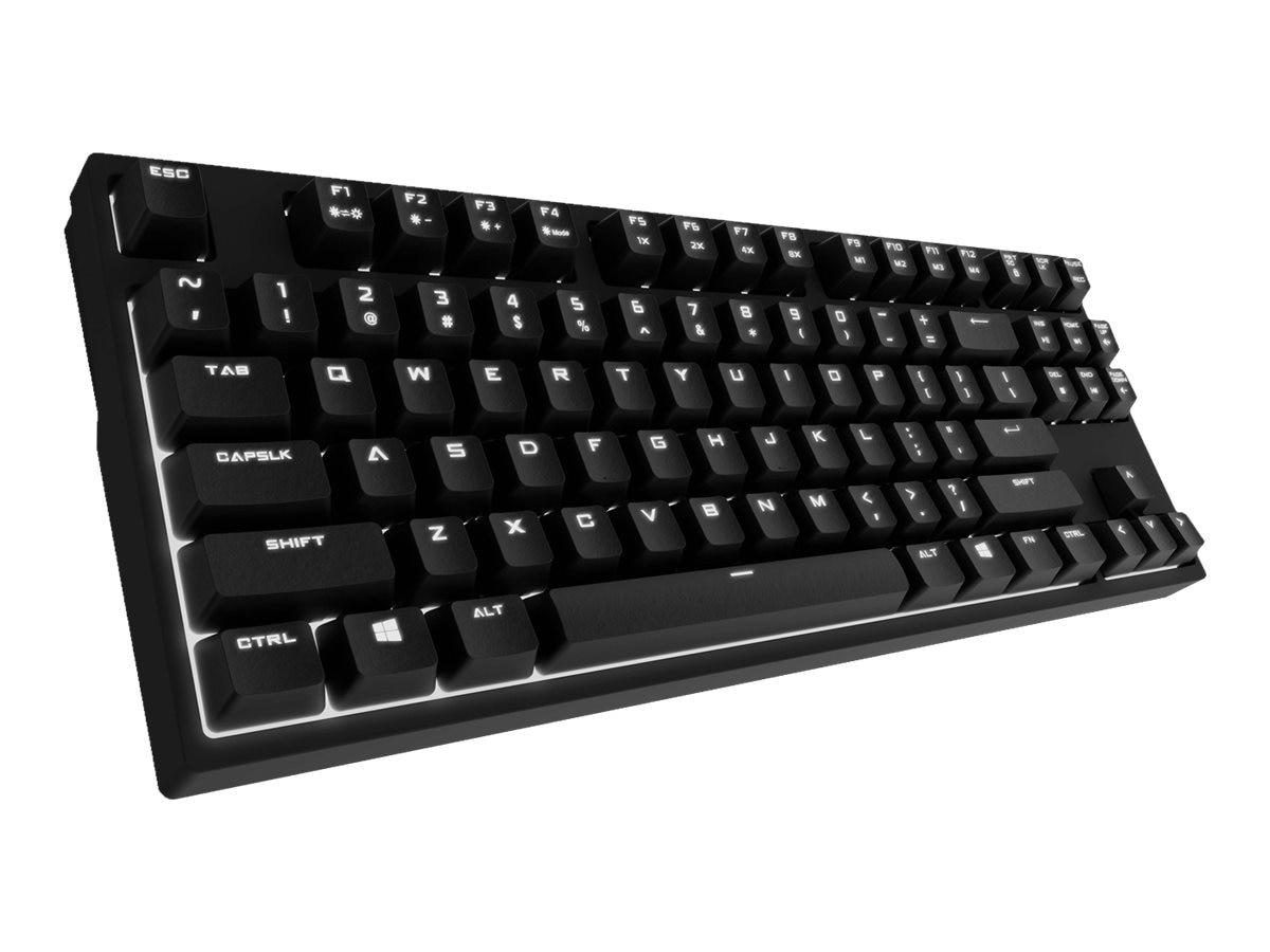 Cooler Master CM Storm QuickFire Rapid USB-PS 2 Wired Mechanical Cherry Brown Switches Gaming Keyboard, SGK-4040-GKCM1-US, 17069881, Keyboards & Keypads