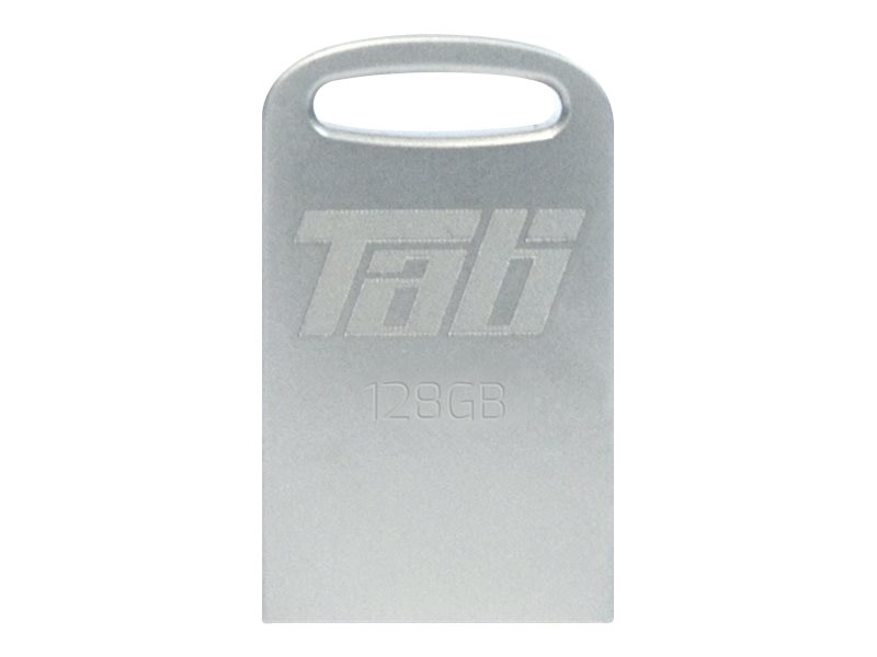 Patriot Memory 128GB Tab USB 3.1 Flash Drive, Silver, PSF128GTAB3USB