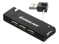 IOGEAR 4-Port Hi-Speed USB 2.0 Hub, Exclusive Buy - Save $1, GUH285W6, 10242661, USB & Firewire Hubs