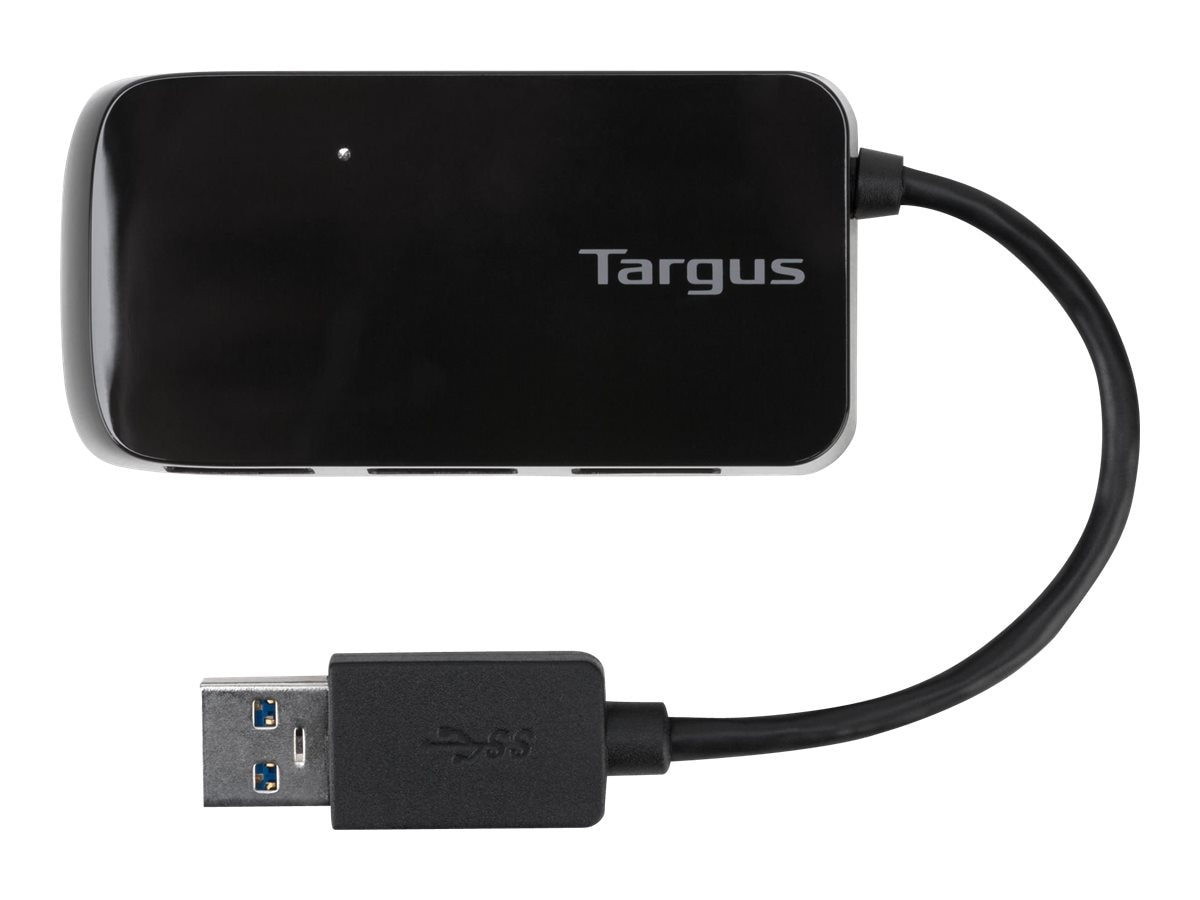 Targus 4-Port USB3 Hub, ACH124US