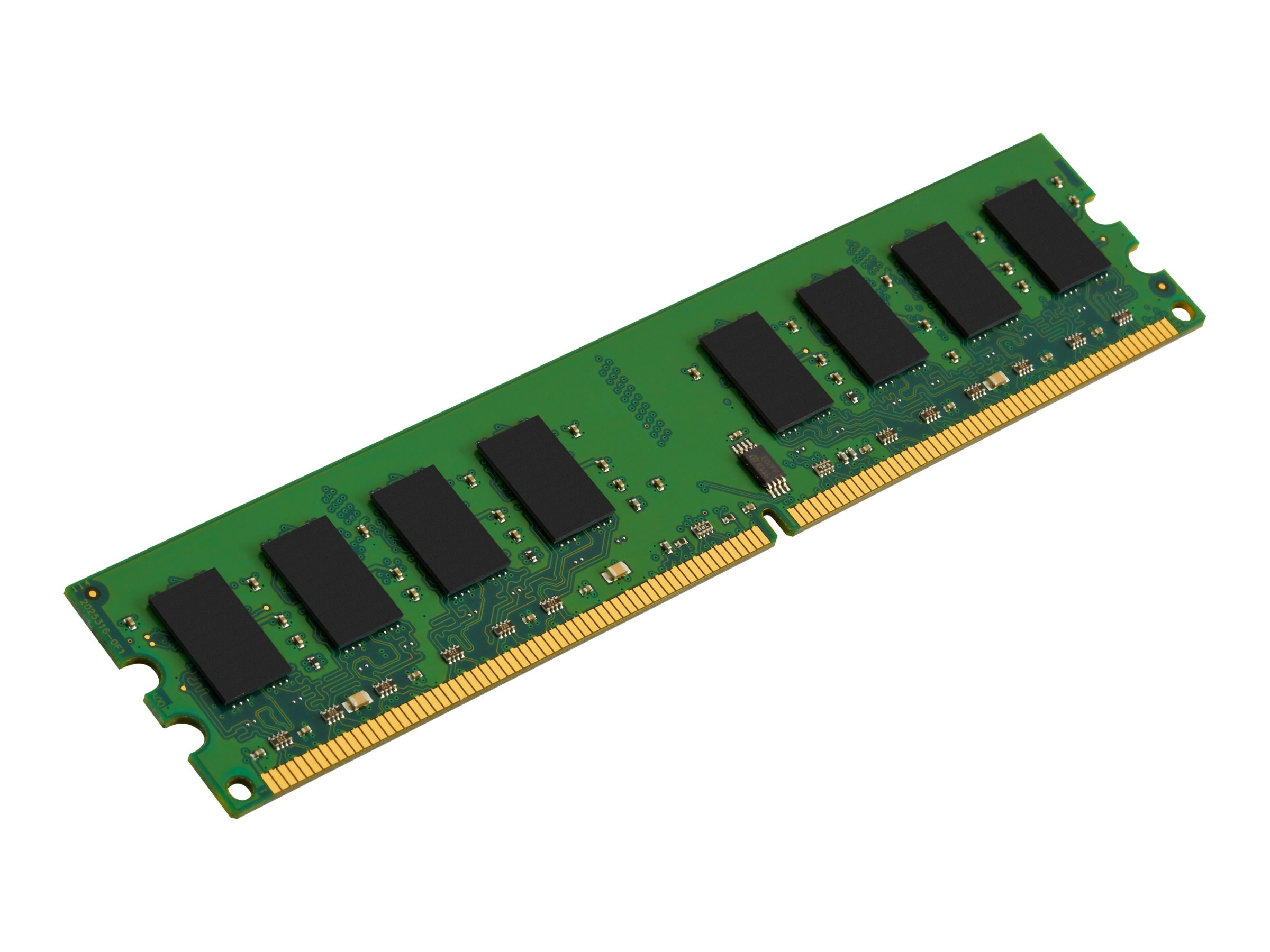 Kingston 2GB PC2-5300 240-pin DDR2 SDRAM UDIMM for Select Dell Models, KTD-DM8400B/2G, 7191436, Memory