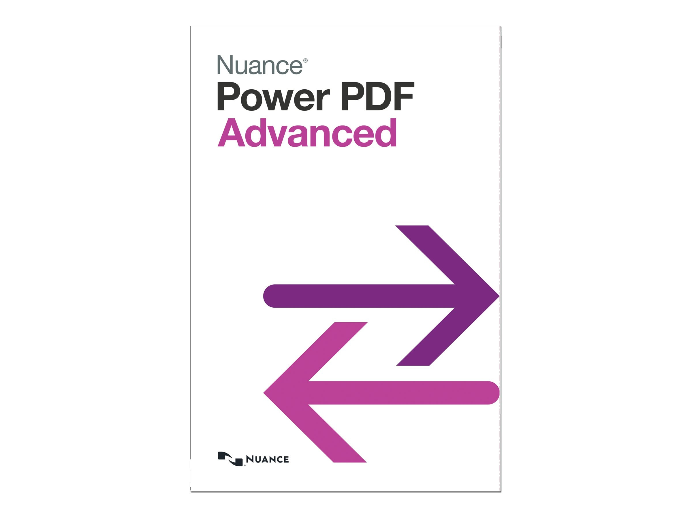 Nuance Power PDF Advanced 1.0 - English - Retail DVD Mailer