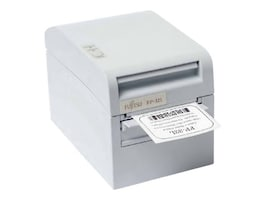 Fujitsu FP-32L Direct Thermal LAN Label & Ticket Printer - White, KA02051-D321, 12402672, Printers - POS Receipt