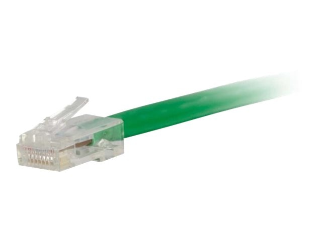 C2G Cat6 Non-Booted Unshielded (UTP) Network Patch Cable - Green, 10ft