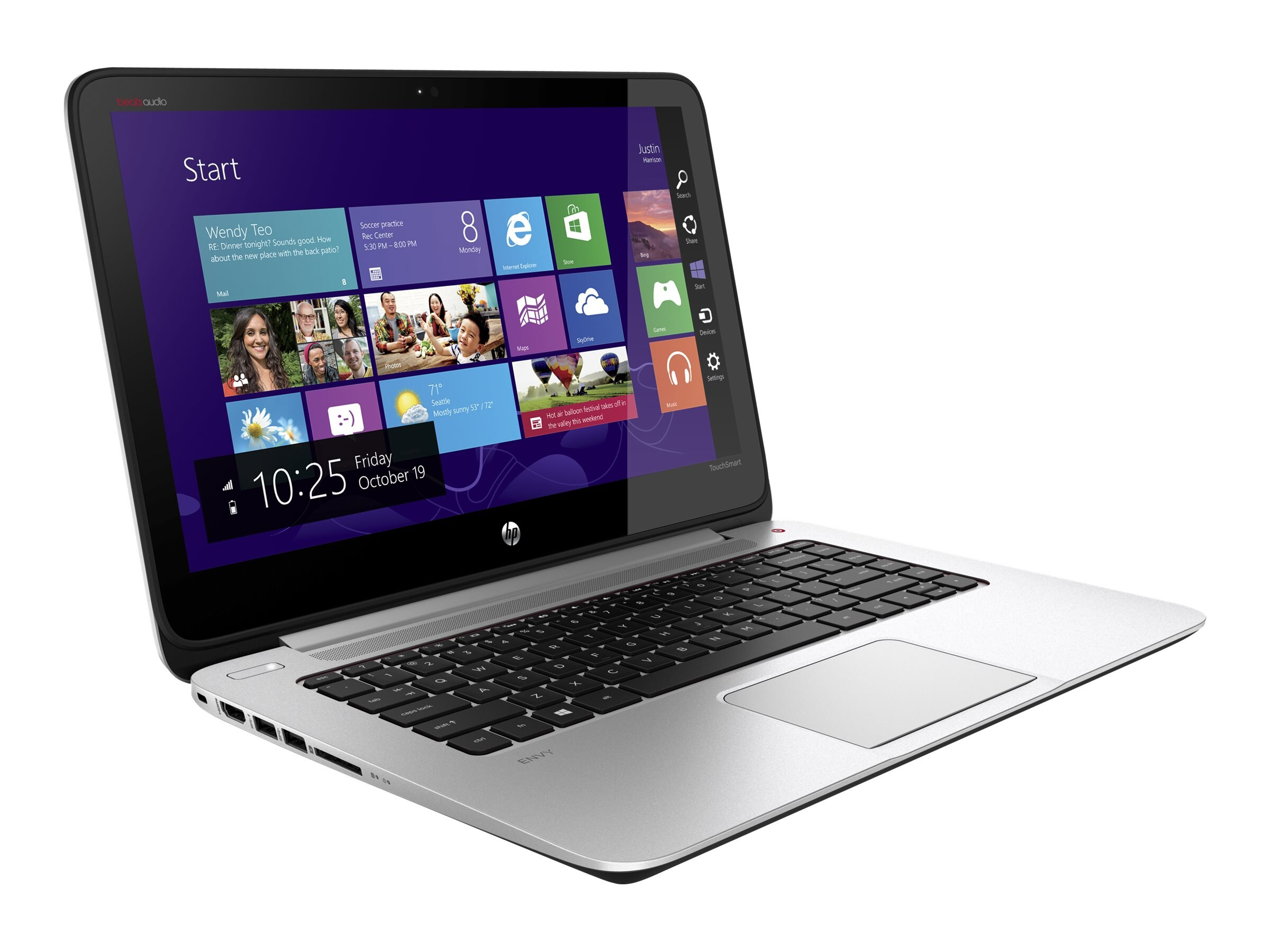 HP Notebook PC Core i5-4200U 8GB 750GB 14 W8, E0M52UA#ABA