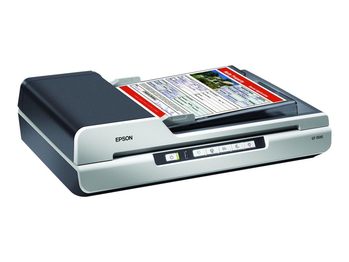Epson WorkForce GT-1500 Flatbed LED Scanner -  $249.99 less instant rebate of $9.00, B11B190011, 8799195, Scanners