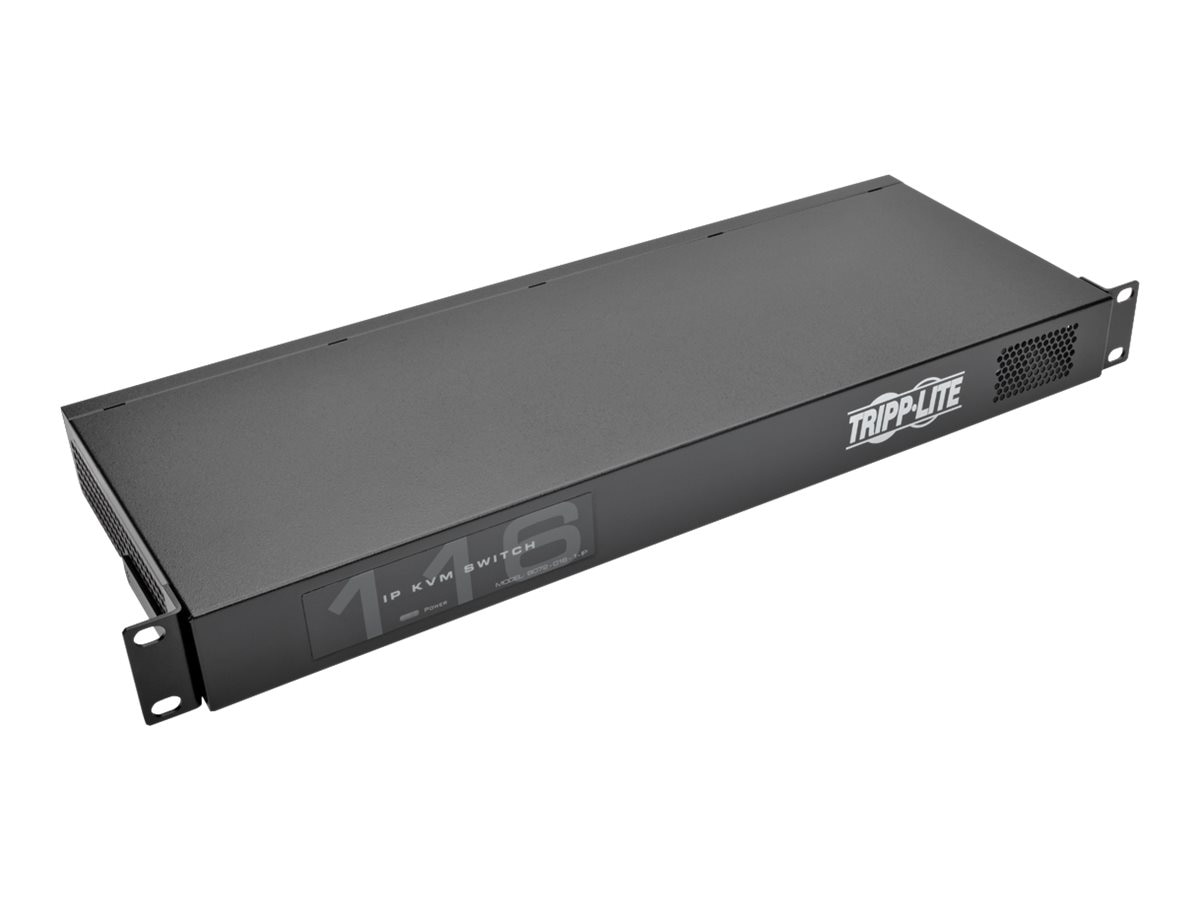 Tripp Lite 16-Port NetCommander 1U Rackmount Cat5 KVM-Over-IP Switch, Instant Rebate - Save $20, B072-016-1-IP