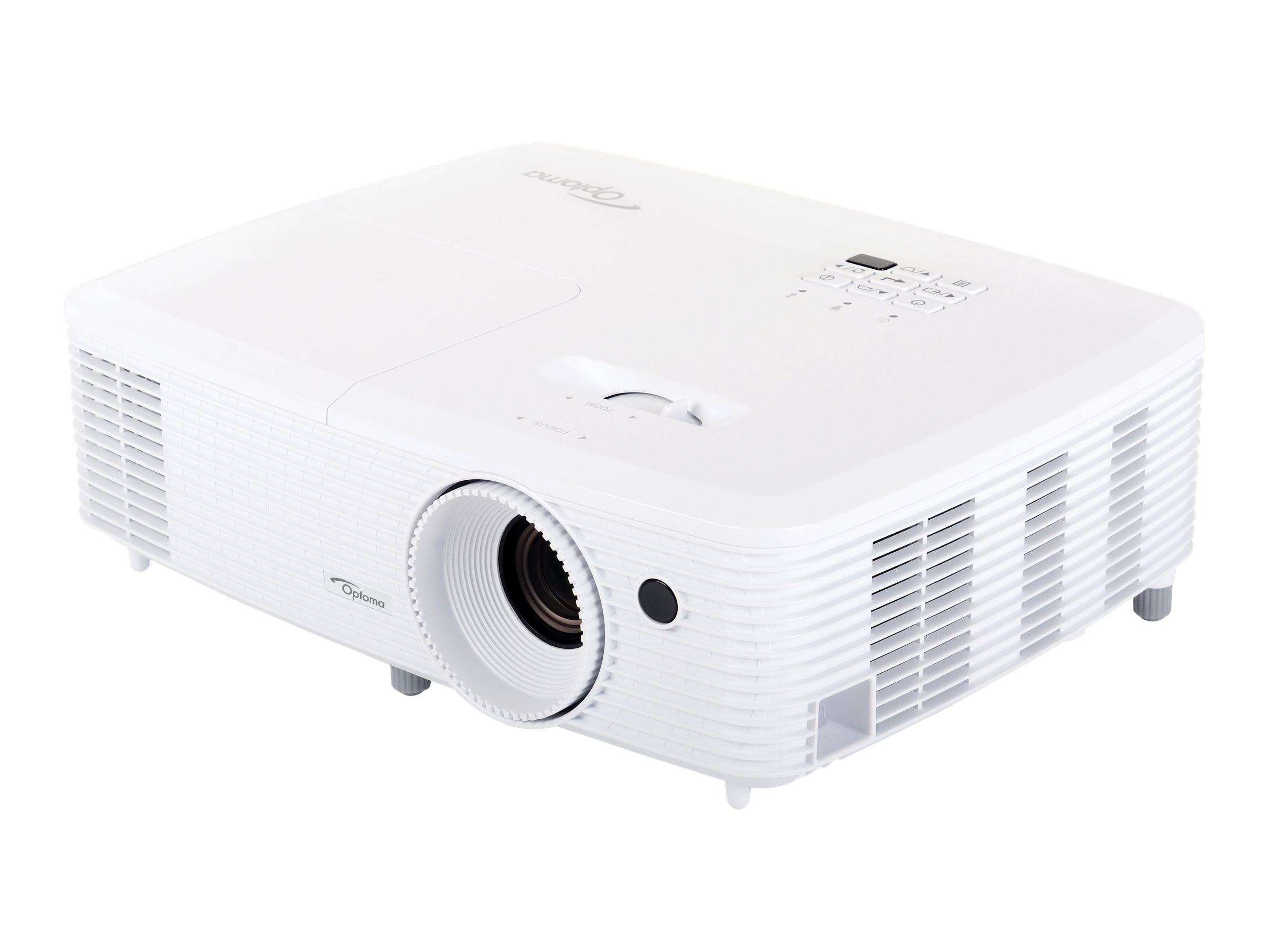 Optoma HD27 1080p DLP Projector, 3200 Lumens, White
