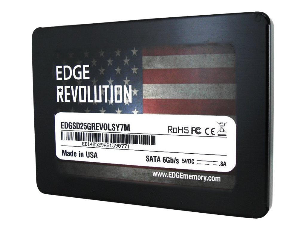 Edge 240GB Revolution SATA 6Gb s 2.5 7mm Internal Solid State Drive, PE243425, 17403391, Solid State Drives - Internal
