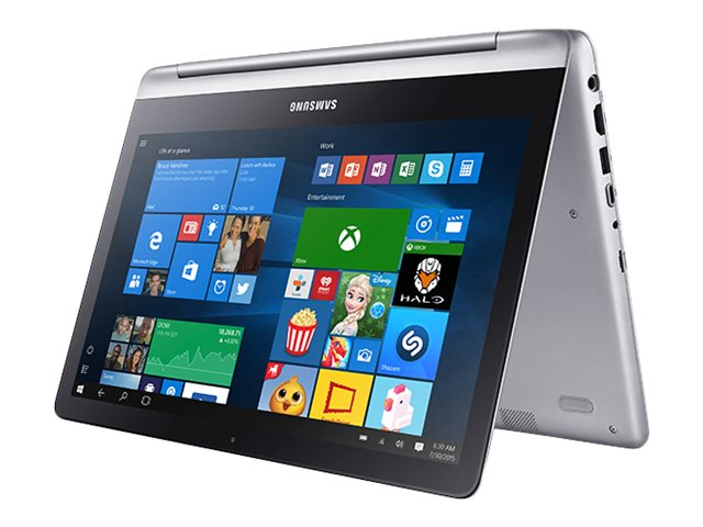 Samsung Notebook 7 Spin Core i5-6200U 2.3GHz 8GB 500GB ac BT 3C 13.3 FHD MT W10P