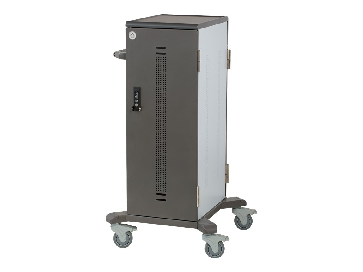 Ergotron Adjustable YES Cart for Tablets, Made with Anthro DNA, YESTABGMPW4, 17522569, Computer Carts