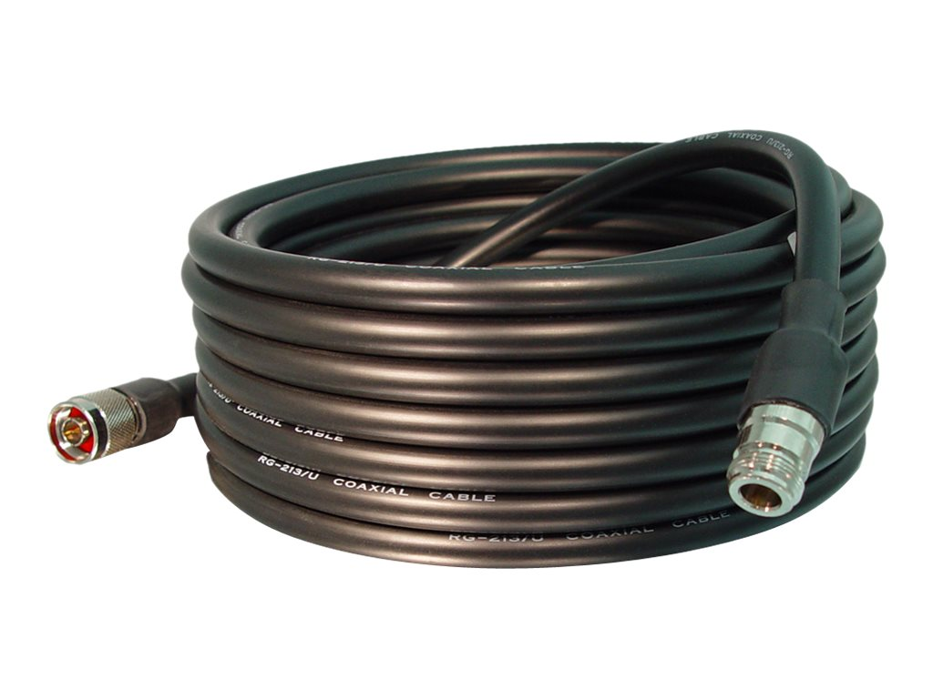 Hawking Outdoor N-Type Antenna Extension Cable, 30ft, HAC30N