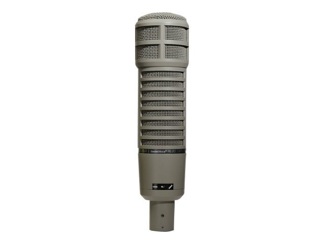 Bosch Security Systems Classic Variable-D Dynamic Cardioid Studio Mic, RE20, 16054898, Microphones & Accessories