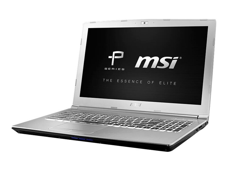 MSI PE62 7RD-1095 Core i7-7700HQ 2.8GHz 32GB 512GB SSD+1TB ac BT WC 6C GTX 1050 15.6 FHD W10P