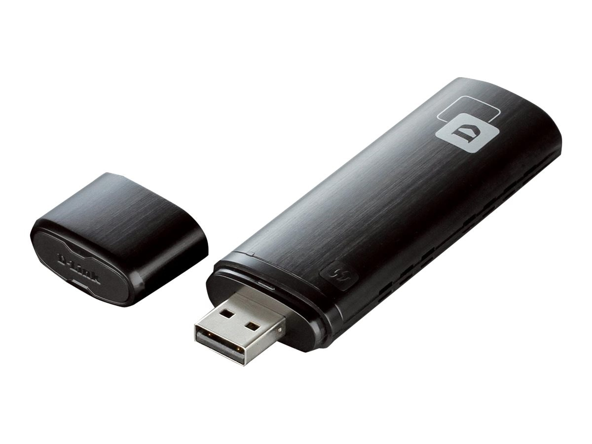 D-Link Wireless AC1200 DB USB Adapter, DWA-182, 14760060, Wireless Adapters & NICs