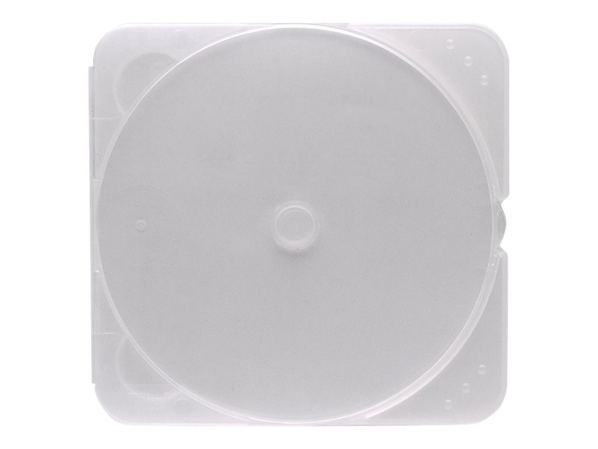 Verbatim TRIMpak Clear Jewel Cases (200-pack), 93975, 372381, Media Storage Cases
