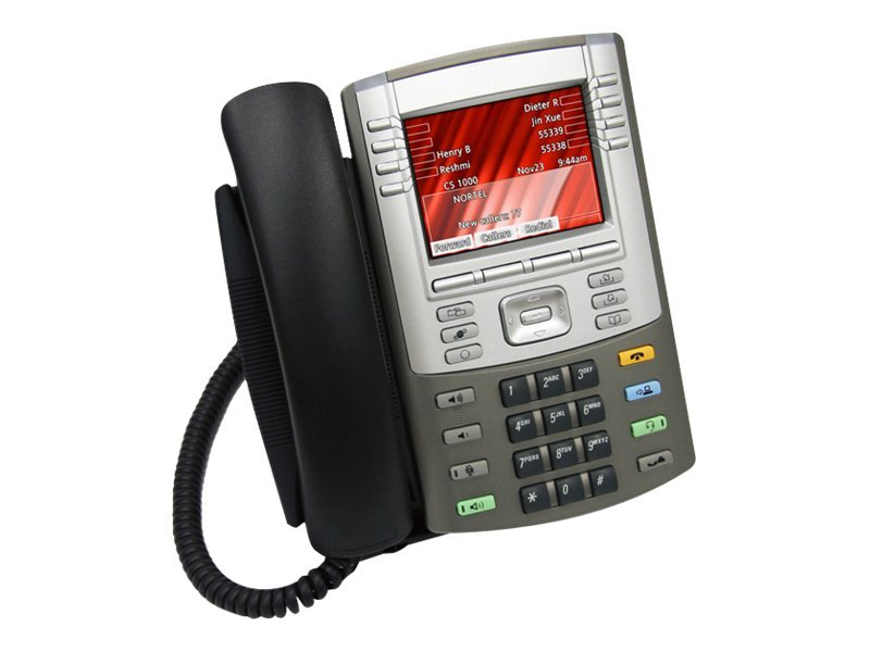 Avaya IP Phone 1165E with Text Keycaps, Graphite, NTYS07BBE6, 11949932, Telephones - Business Class