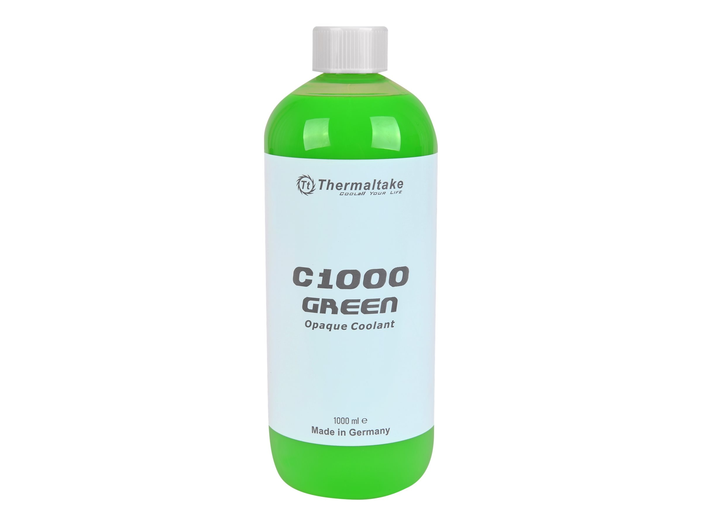 Thermaltake C1000 Opaque Liquid Coolant, Green, CL-W114-OS00GR-A, 31583341, Cooling Systems/Fans