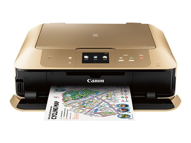 Canon PIXMA MG7720 Photo All-In-One Inkjet Printer - Gold, 0596C062, 30568060, MultiFunction - Ink-Jet