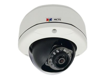 Acti 3MPIX Outdoor Dome Camera w  Adaptive IR, E72A