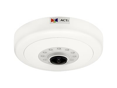 Acti 12MP Day Night Extreme WDR Indoor Hemispheric Dome Camera with 1.3mm Lens