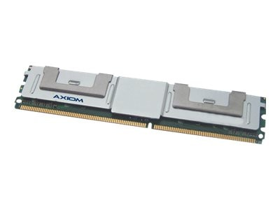 Axiom 2GB PC2-5300 667MHz ECC Fully Buffered Chipkill DDR2 DRAM DIMM for IBM, 39M5789-AXA, 7536107, Memory