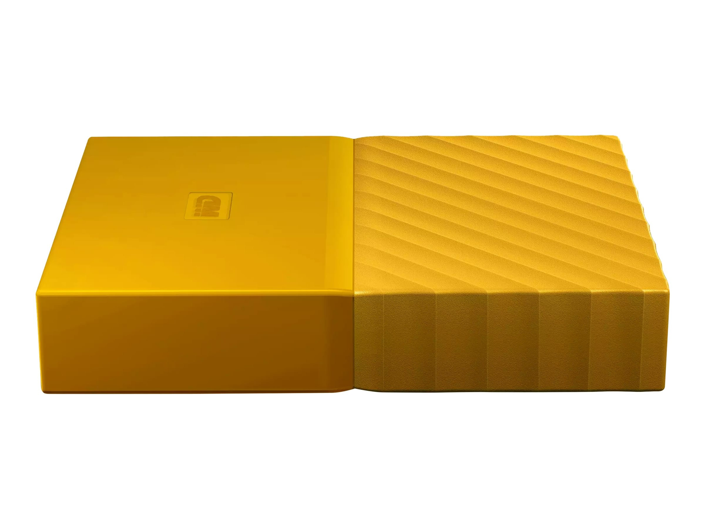 WD 4TB My Passport USB 3.0 Portable Hard Drive - Yellow, WDBYFT0040BYL-WESN