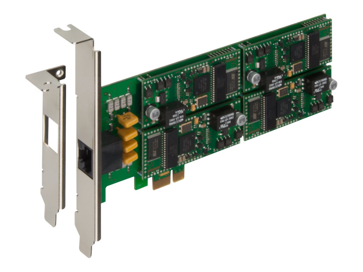 Multitech V.92 Data, V.34 Fax Modem Card (Low Profile PCI Express), ISI9234HPCIE/4, 17936770, Modems