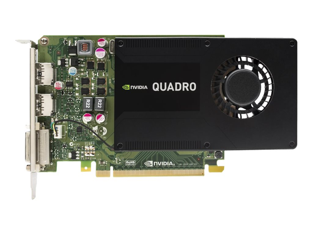HP Quadro K2200 PCIe 2.0 x16 Graphics Card, 4GB GDDR5, J3G88AA, 19858074, Graphics/Video Accelerators