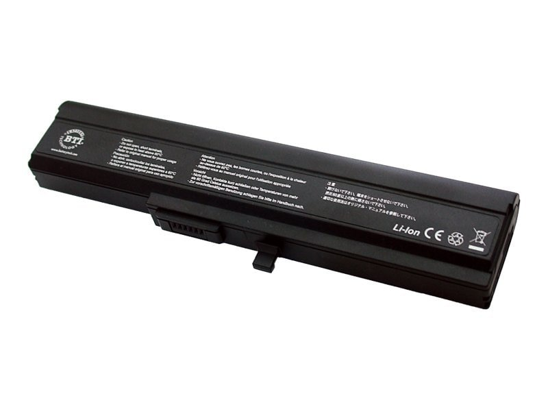 BTI Battery, Lithium-Ion, for Sony VAIO TX Series, Replaces VGP-BPS5, VGP-BPS5A, VGP-BPL5A, SY-TX, 7505757, Batteries - Notebook