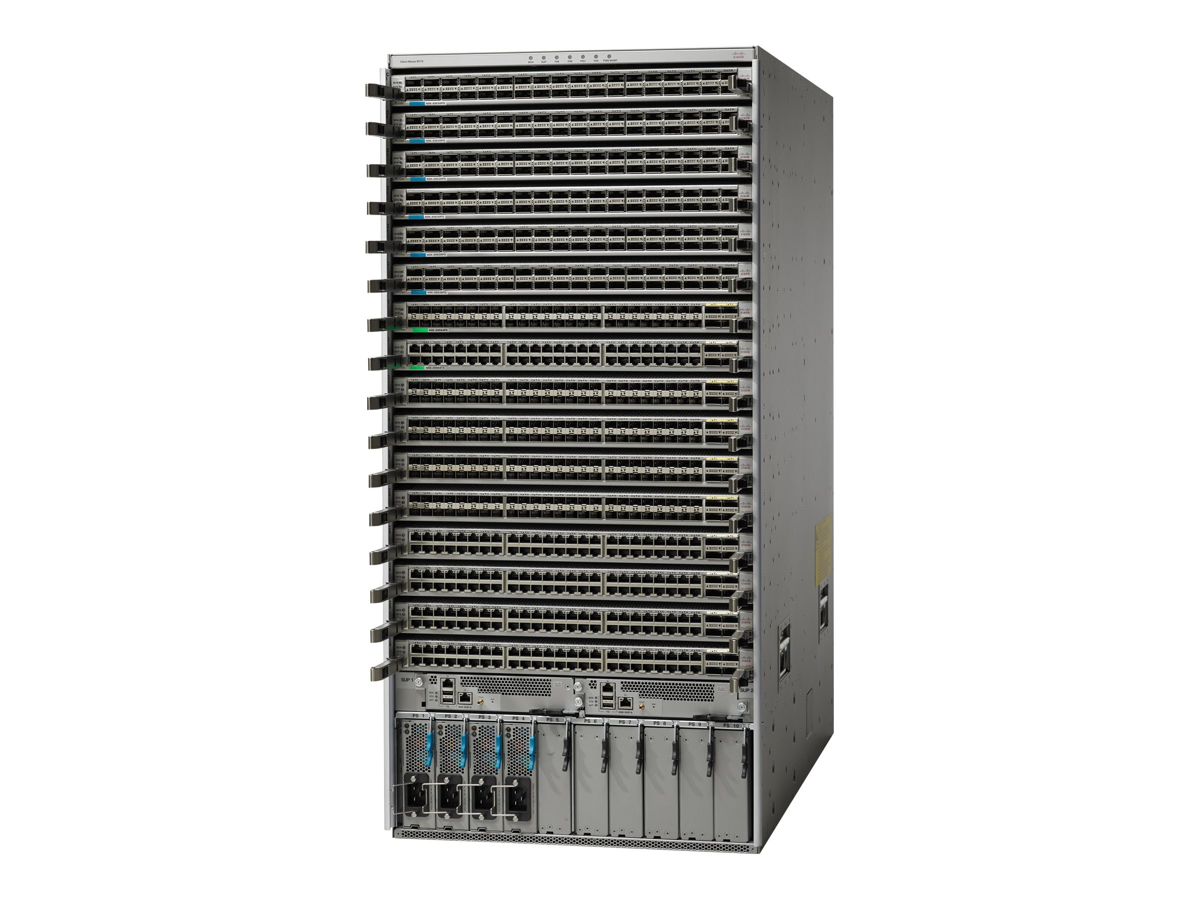 Cisco ONE Nexus 9516 Chassis w 16 Line Card Slots