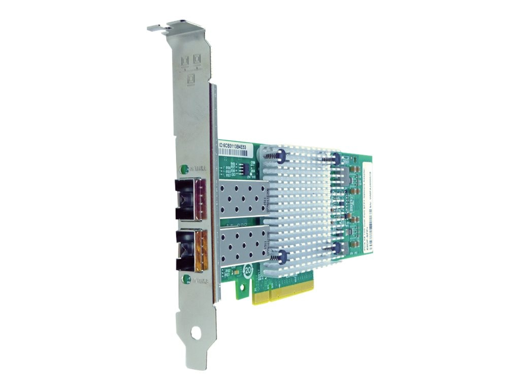 Axiom PCIe x8 10Gbs Dual Port Fiber Network Adapter for HP, 581201-B21-AX, 31092121, Network Adapters & NICs