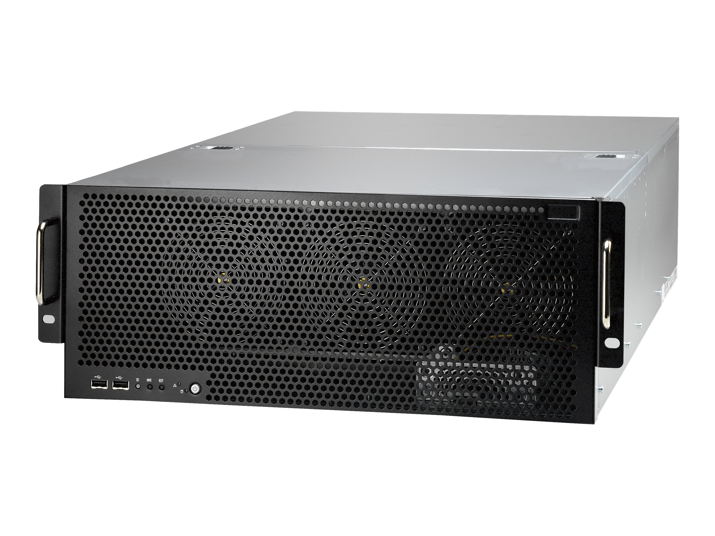 Tyan Barebone, FT77 4U RM, Intel 5520, Max 144GB DDR3, M2075, 2400W 2+1 RPS