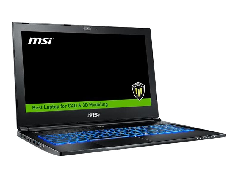 MSI WS60 6QJ-430 Mobile Workstation Core i7-6700, WS60 6QJ-430