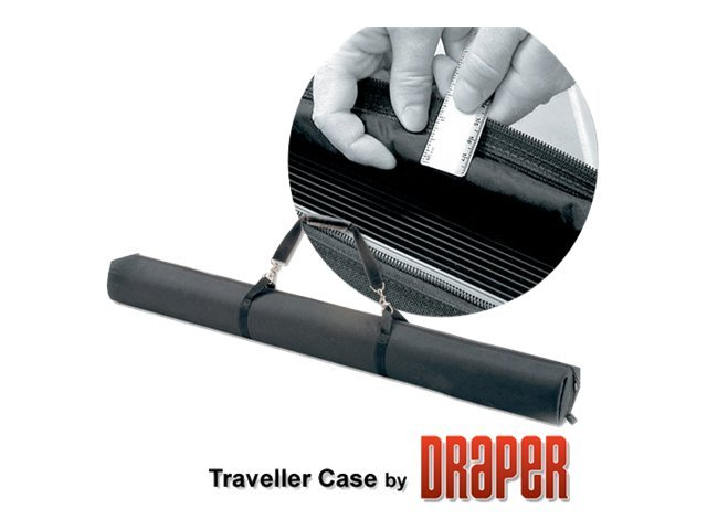 Draper Traveller Projection Screen, Matte White, 4:3, 60, 230103
