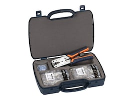 Black Box CAT5E & CAT6 MODULAR PLUG KIT, FTM650-R2, 32875240, Network Tools & Toolkits