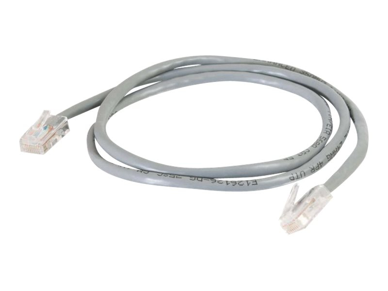 C2G Cat5e Non-Booted Unshielded (UTP) Network Patch Cable, Gray, 2ft, 24960, 7014624, Cables