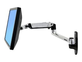 Ergotron LX Wall Mount Arm for Flat Panel, 45-243-026, 10955687, Stands & Mounts - AV