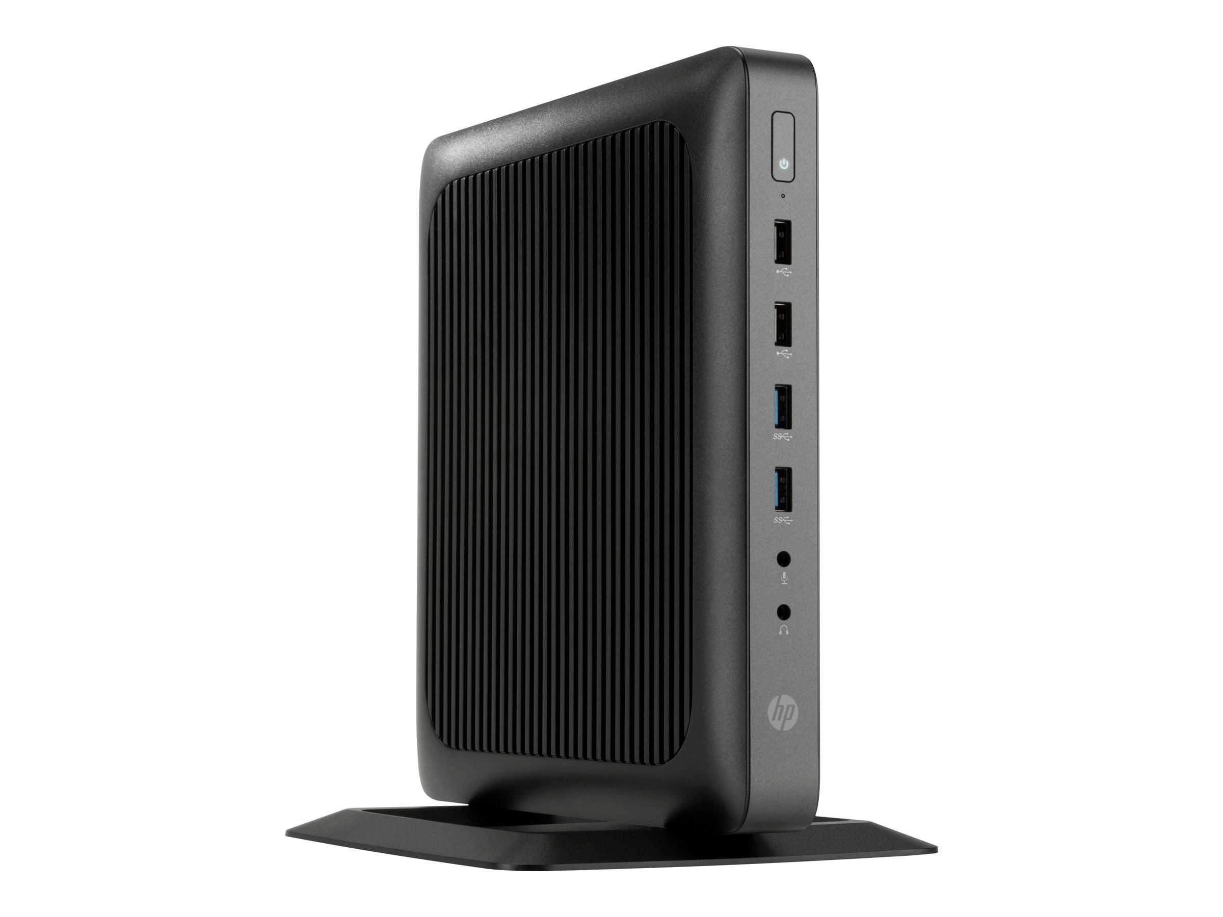 HP t620 Flexible Thin Client AMD QC GX-415GA 1.5GHz 4GB RAM 16GB Flash GbE VGA WES8, G6F35AA#ABA