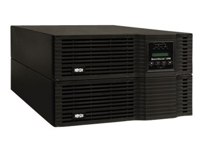 Tripp Lite 6000VA UPS Smart Online Rack Tower PureSine High Voltage 6kVA 200-240V Hardwired, SU6000RT3UHV, 305004, Battery Backup/UPS