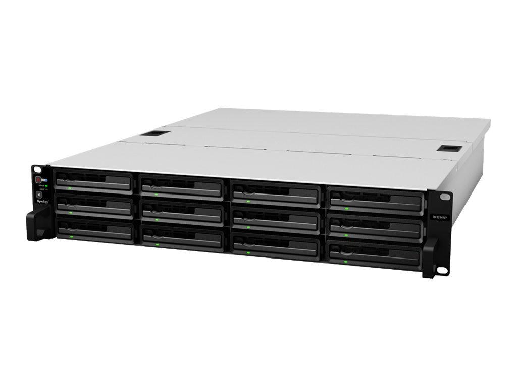 Synology RackStation RX1214RP NAS, RX1214RP, 16406697, Network Attached Storage