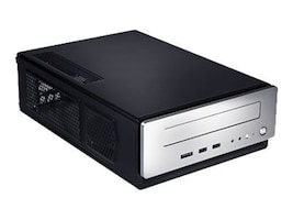 Antec Chassis, Mini-ITX 2x2.5 Bays 1x5.25 Bay 1xHH Slot 1xFan 150W PSU, Silver, ISK-310-150, 10996665, Cases - Systems/Servers