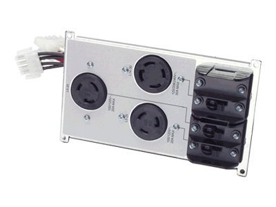 APC Symmetra LX Power Distribution Panel (1) L14-30R (2) L5-20R Outlets, SYAPD1