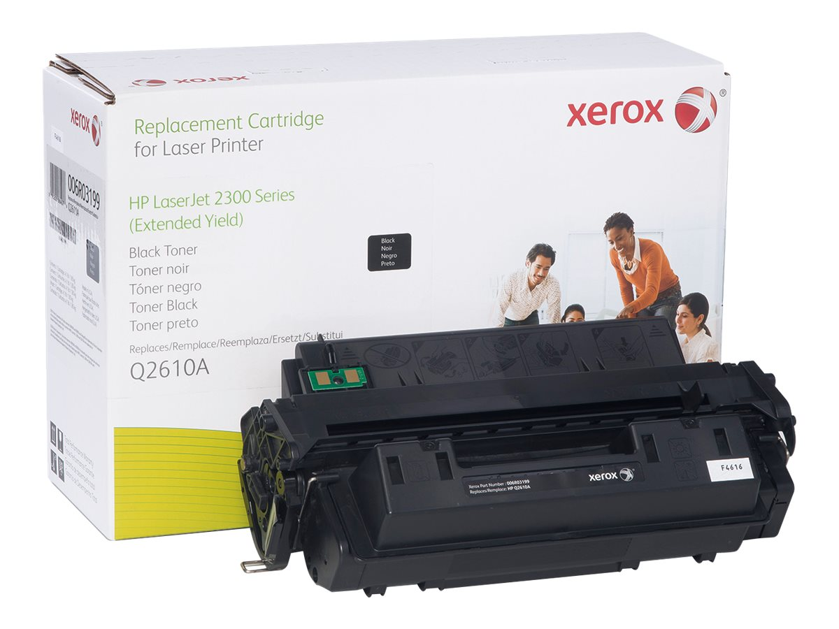 Xerox Q2610A Black Extended Yield Toner Cartridge for HP LaserJet 2300 Series, 006R03199